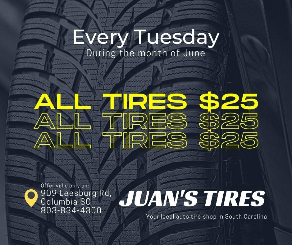 Juan's Tires Promo