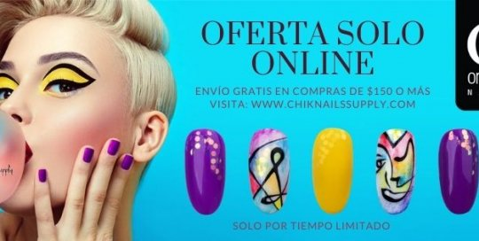 Chik Nails Supply Facebook Cover